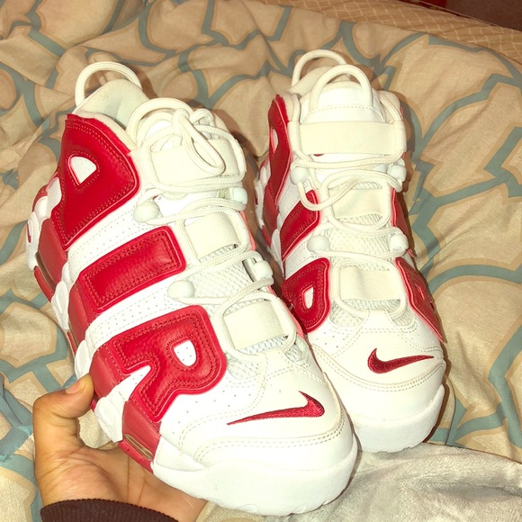 brand new 49a70 f50b0 Scottie pippen Shoes | Red And White Pippens | Poshmark